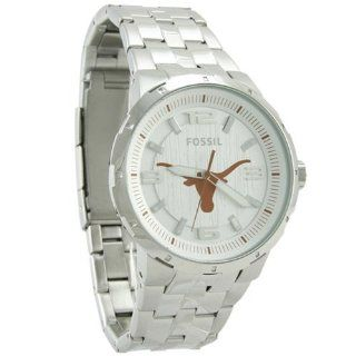 Fossil Texas Longhorns Stainless Steel Automatic Movement