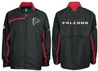Reebok Atlanta Falcons Black NFL Light Weight Full Zip