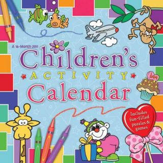 Childrens Activity Calendar 2011 Wall Calendar