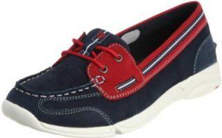 Rockport Womens CM Boat Shoe II Fashion Sneaker,White,9.5 W US Shoes