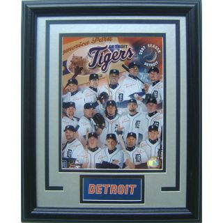 Detroit Tigers 2006 2007 Deluxe Framed Picture
