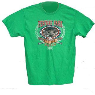 Fenway Park 2008 World Championship Souvenir Tee Shirt