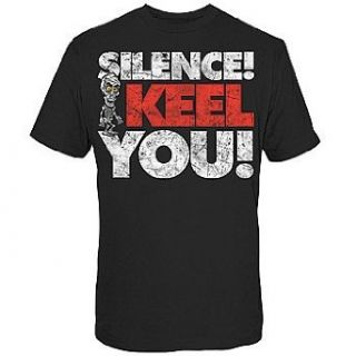 Achmed Silence I Keel You Black T Shirt Clothing