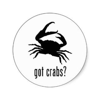 Crabs Sticker