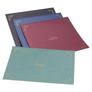 Certificate Holder, 11x8 1/2, Dark Blue (bulk pack of 375