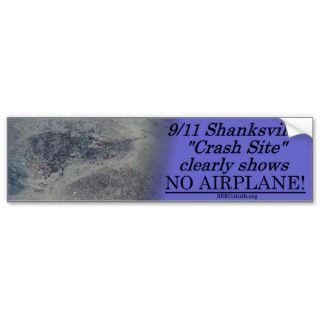 911 Shanksville Bumper Sticker