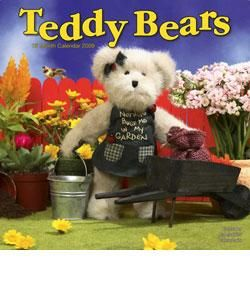 Teddy Bears 2009 Wall Calendar