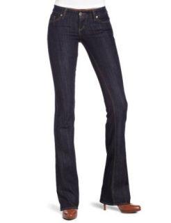 iT Jeans Womens Hottie Low Rider Boot Cut Jean, Purity