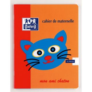 OXFORD Cahier 32 Pages 17x22cm ORANGE   Achat / Vente CAHIER OXFORD
