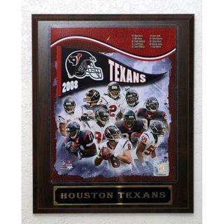 2008 Houston Texans Picture Plaque