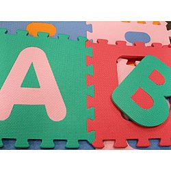 36 square foot Alphabet and Number Floor Puzzle Mat