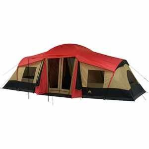 Ozark Trail 20 x 11 3 Room XL Camping Tent, Sleeps 10
