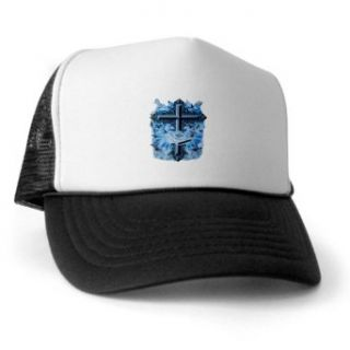 Artsmith, Inc. Trucker Hat (Baseball Cap) Holy Cross Doves