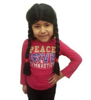 Child Native American Girl Wig Clothing