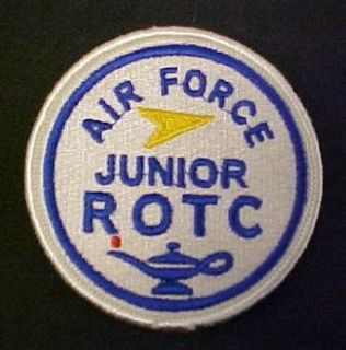 Air Force JROTC Patch (Round) Full Color Clothing