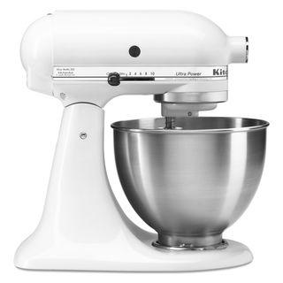 Kitchenaid KSM95PSWH White 4.5 quart Ultra Power Tilt Head Stand Mixer