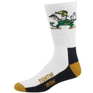 Notre Dame Fighting Irish Tri Color Team Logo Tall Socks