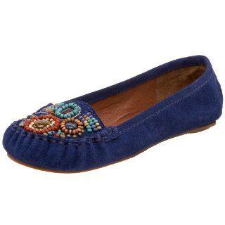 Steve Madden Womens Kajun Flat,Blue Multi,5 M US Shoes