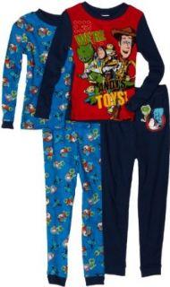 Komar Kids Boys 2 7 Toy Story 4 Piece Pajama Sets, Blue
