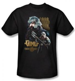 The Lord Of The Rings Kids T Shirt Gimli Black Shirt Youth