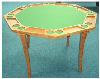 Octagon Shape Poker Table