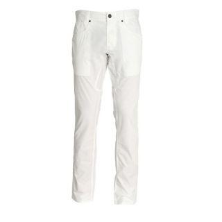 GUESS Pantalon Outlaw Homme Blanc   Achat / Vente PANTALON GUESS