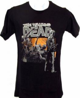 Walking Dead Rick Comic T shirt Clothing