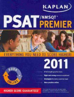 Kaplan PSAT/ NMSQT 2011 Premier Live Online (Paperback)