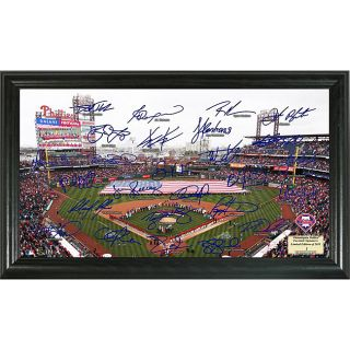 Highland Mint 2011 Philadelphia Phillies Field Signature Framed Photo