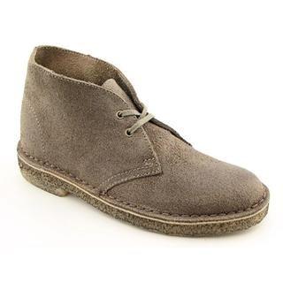Clarks Originals Womens Desert Boot Leather Boots (Size 6