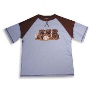 Dogwood Clothing   Boys Short Sleeve Baseball Style Tee