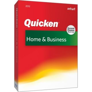 Intuit Quicken 2012 Home & Business   Complete Product   1 User