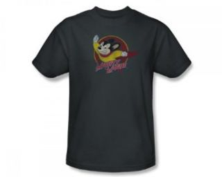 Mighty Mouse Victory Pose Vintage Style Cartoon T Shirt