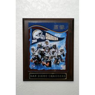 San Diego Chargers 2008 Picture Plaque