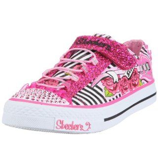 /Little Kid/Big Kid),White/Black/Hot Pink,10.5 M US Little Kid Shoes