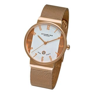 Stuhrling Original Womens Lady Monticello Swiss Quartz Watch