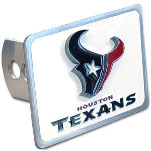 Houston Texans Pewter Trailer Hitch Cover Sports
