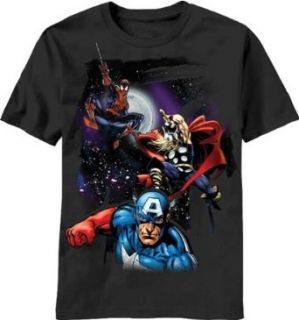 Marvel Comics   CAPTAIN AMERICA, SPIDERMAN, THOR   Black