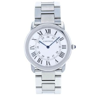 Catrier Womens Roadster Stainless Steel Silver Dial Watch