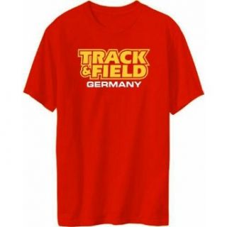 Track & Field Germany Mens T shirt Clothing