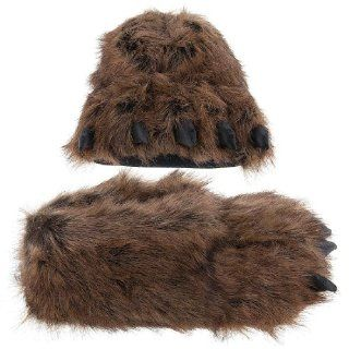 Grizzly Bear Paw Slippers for Women and Men Shoes