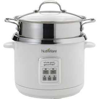 Aroma Nutriware 18 Cup Rice Cooker, Food Steamer and Pasta Cooker
