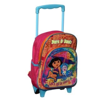 Nickelodeons Dora the Exporer 12 inch Rolling Backpack
