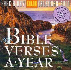 Bible Verses 2010 Calendar (Calendar Paperback)