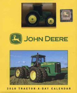 John Deere Tractor a day 2010 Calendar (Calendar Paperback
