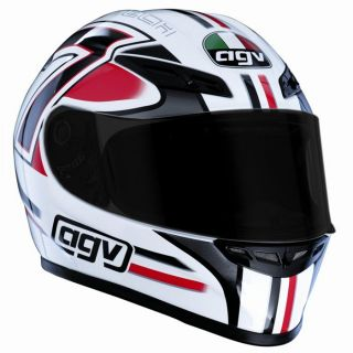 AGV GP Tech Seven White/Red/Black   Achat / Vente CASQUE AGV GP Tech