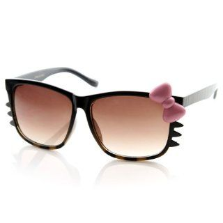 Animal Print Womens Hello Kitty Bow and Whiskers Sunglasses Shoes