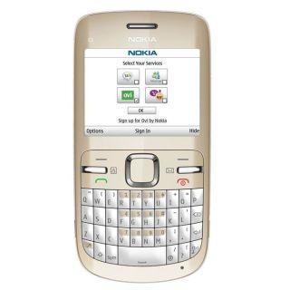 NOKIA C3 00 Blanc et Or   Achat / Vente TELEPHONE PORTABLE NOKIA C3 00