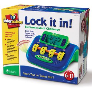 Lock It In Math Skills Game