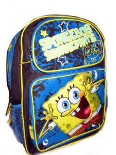 Spongebob Squarepants Large Backpack Bag School Tote NEW